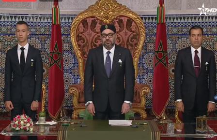 جلالة الملك: المغرب يمد يده للجزائر ومستعد للحوار