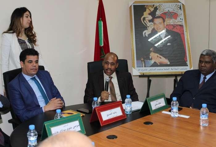 مدير الموارد البشرية بوزارة الصحة يشرف على تنصيب خالد سلمي مديرا جهويا للصحة بدرعة تافيلالت