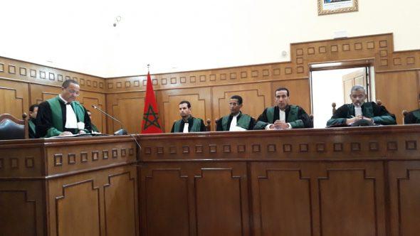 تنصيب رئيس المحكمة الابتدائية بتنغير ووكيل الملك بها