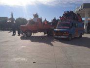 ساكنة دوار أيت مراو تخرج في مسيرة إلى تنغير منها الى الرشيدية بسبب التهميش والإقصاء + فيديو