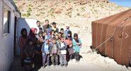 وفد من المديرية الإقليمية للتعليم بتنغير في زيارة لوحدة تمدرس أبناء الرحل بإمي نُ ازغام