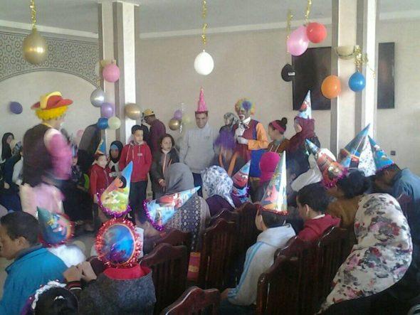 تنغير: تنظيم حفل ترفيهي لفائدة الأطفال ذوي الاحتياجات الخاصة