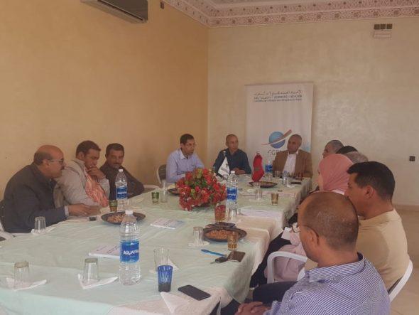 تنغير : الاتحاد العام لمقاولات المغرب بجهة درعة تافيلالت ينظم مائدة مستديرة حول مناخ الأعمال