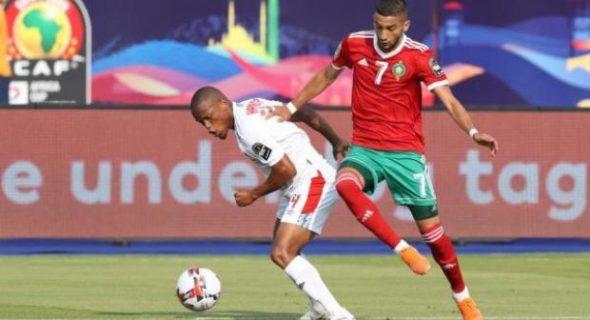 المنتخب الوطني يدشن مشاركته في كأس أفريقيا بمصر بانتصار من خطأ في آخر لحظات مباراة للنسيان.