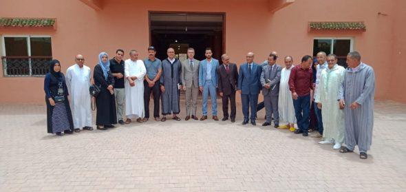 تنغير: عامل إقليم تنغير يعقد لقاء تواصليا تصالحيا بين أعضاء المجلس الجماعي لتاغزوت