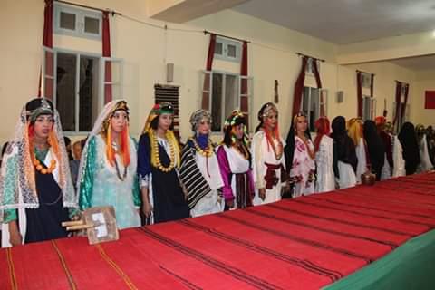 صيف بومالن دادس في دورته الاولى يحتفي بالزي التقليدي لنساء درعة تافيلالت