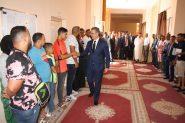 الزيتوني عامل إقليم تنغير يترأس الإحتفال باليوم الوطني للمهاجر