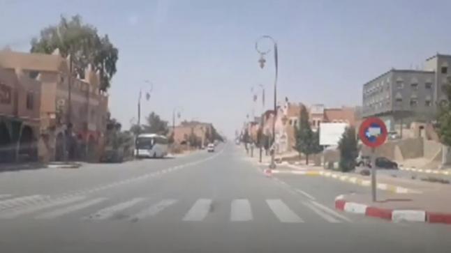شاهد أجواء عيد الفطر والحجر الصحي بمدينة تنغير